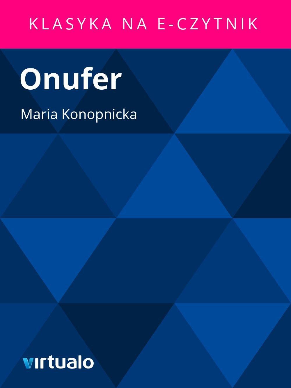 Onufer - Ebook (Książka EPUB) do pobrania w formacie EPUB