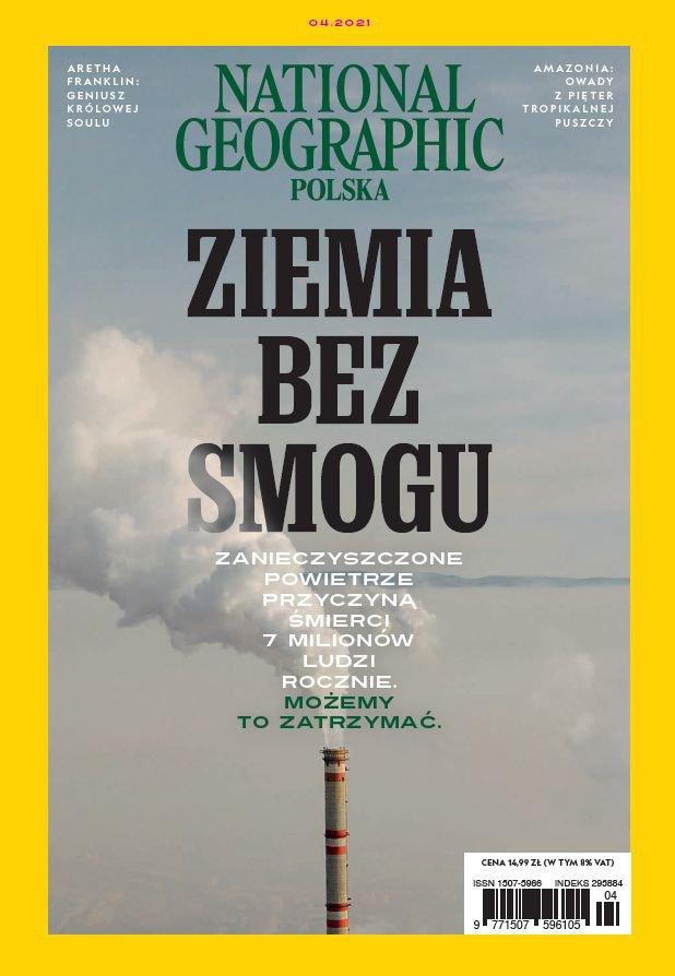 National Geographic Polska 4/2021 - Ebook (Książka PDF) do pobrania w formacie PDF
