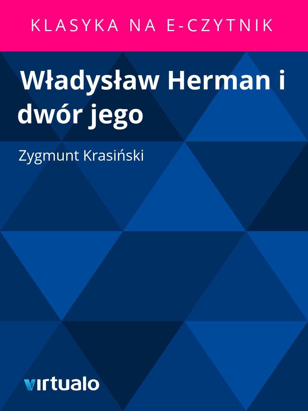 Władysław Herman i dwór jego - Ebook (Książka EPUB) do pobrania w formacie EPUB