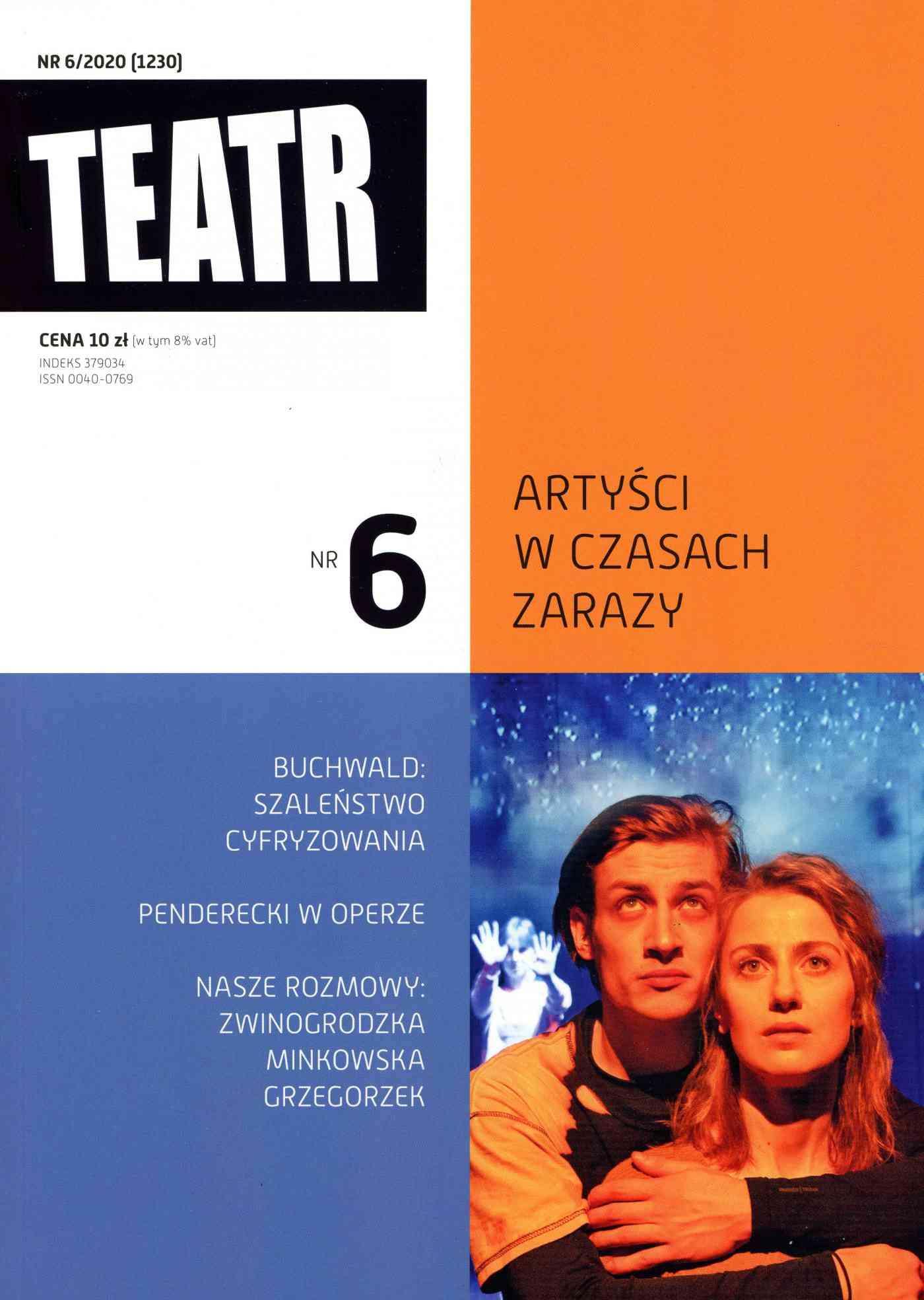 Teatr 6/2020 - Ebook (Książka EPUB) do pobrania w formacie EPUB