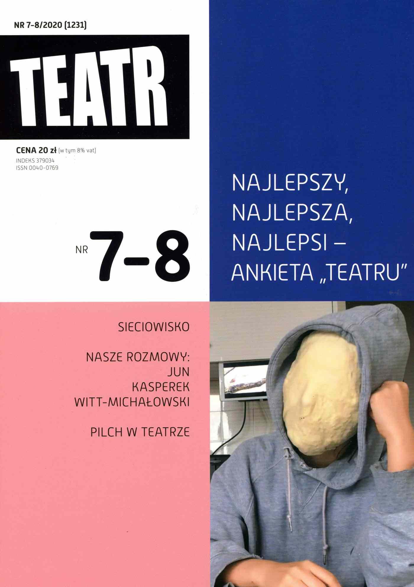 Teatr 7-8/2020 - Ebook (Książka EPUB) do pobrania w formacie EPUB