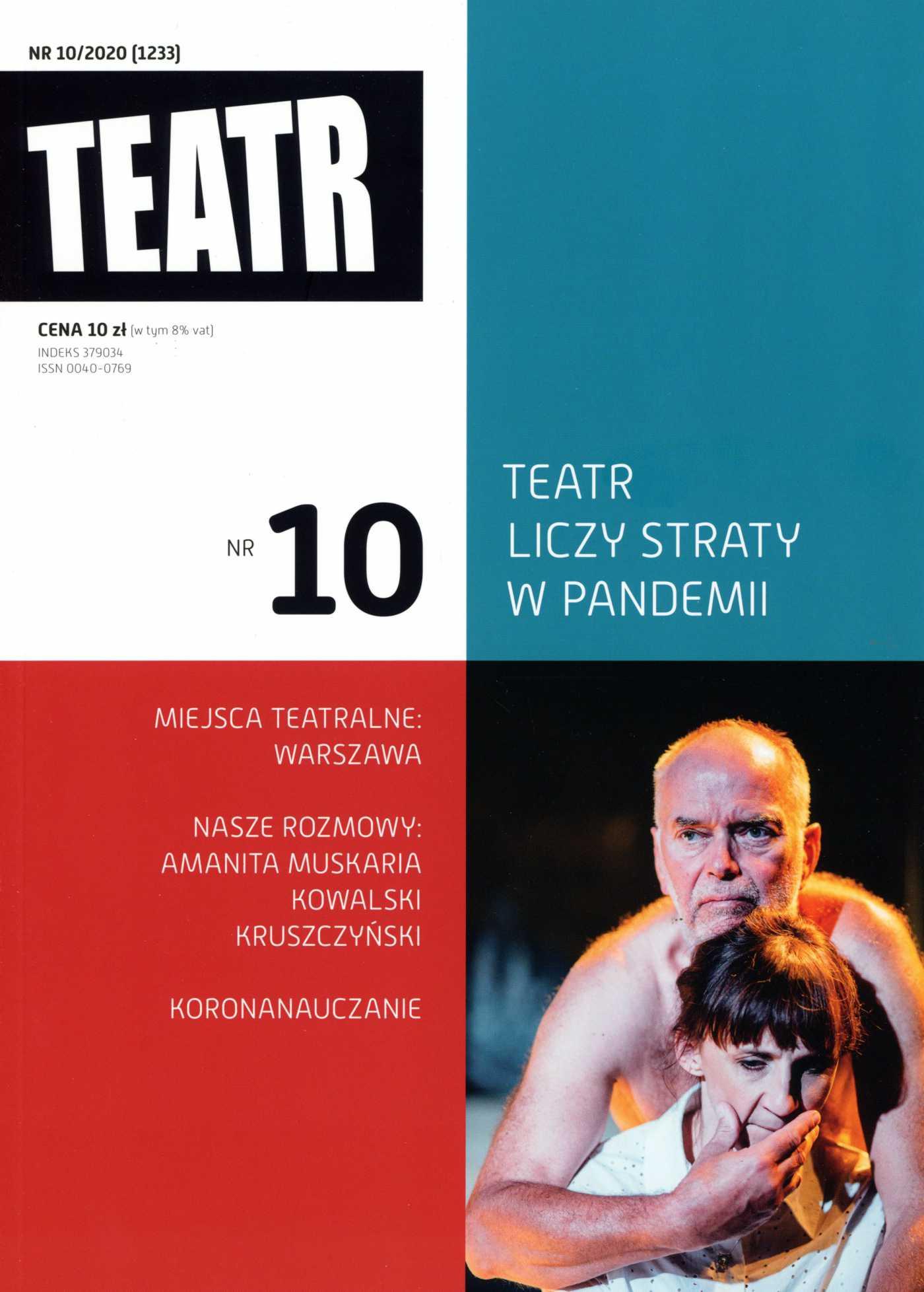 Teatr 10/2020 - Ebook (Książka EPUB) do pobrania w formacie EPUB