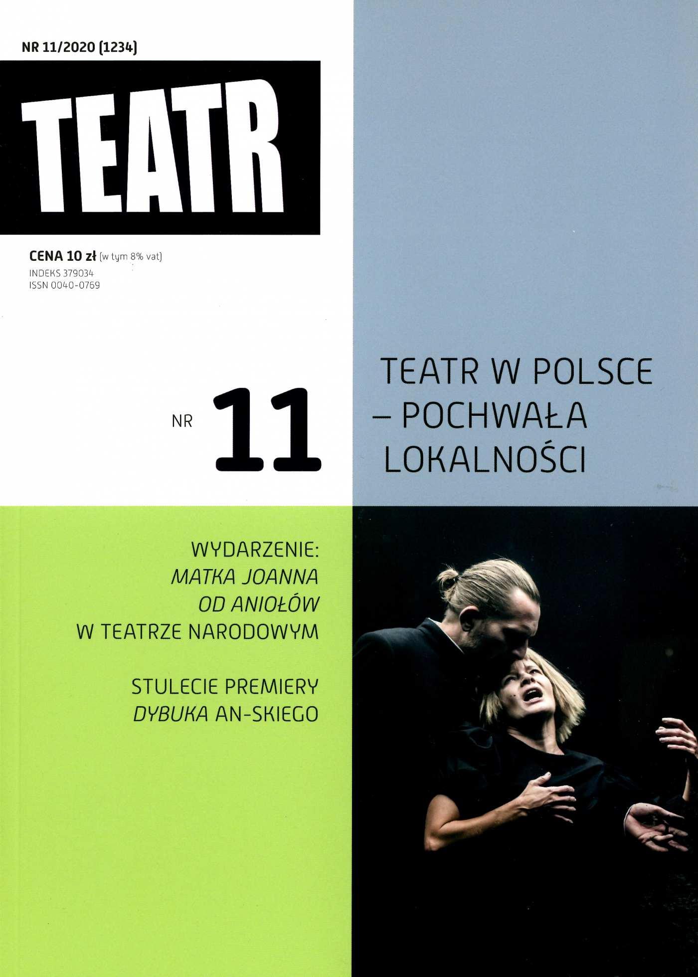 Teatr 11/2020 - Ebook (Książka EPUB) do pobrania w formacie EPUB