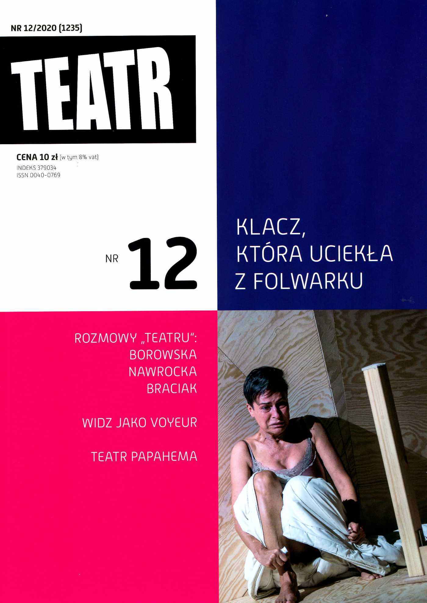 Teatr 12/2020 - Ebook (Książka EPUB) do pobrania w formacie EPUB