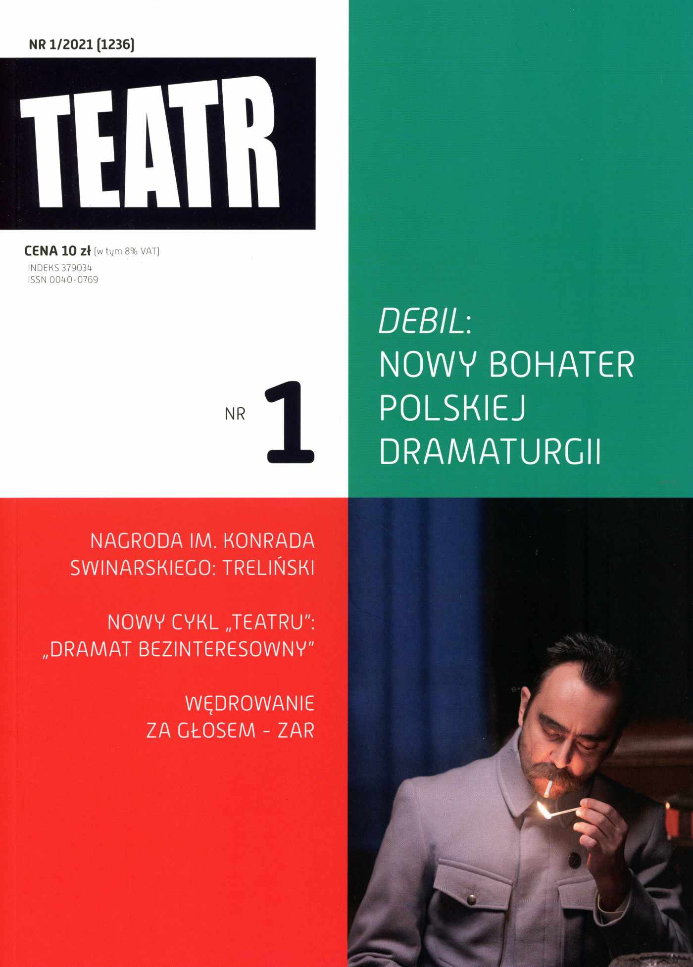 Teatr 1/2021 - Ebook (Książka EPUB) do pobrania w formacie EPUB
