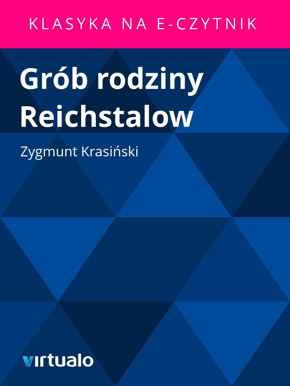 Grób rodziny Reichstalow - Ebook (Książka EPUB) do pobrania w formacie EPUB