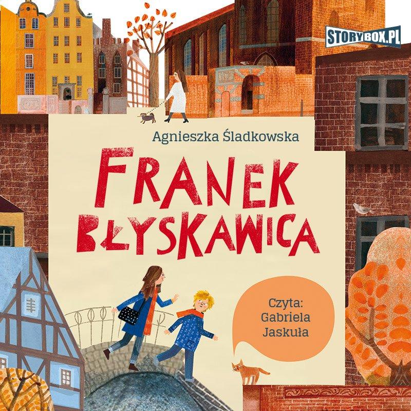 Franek Błyskawica - Audiobook (Książka audio MP3) do pobrania w całości w archiwum ZIP