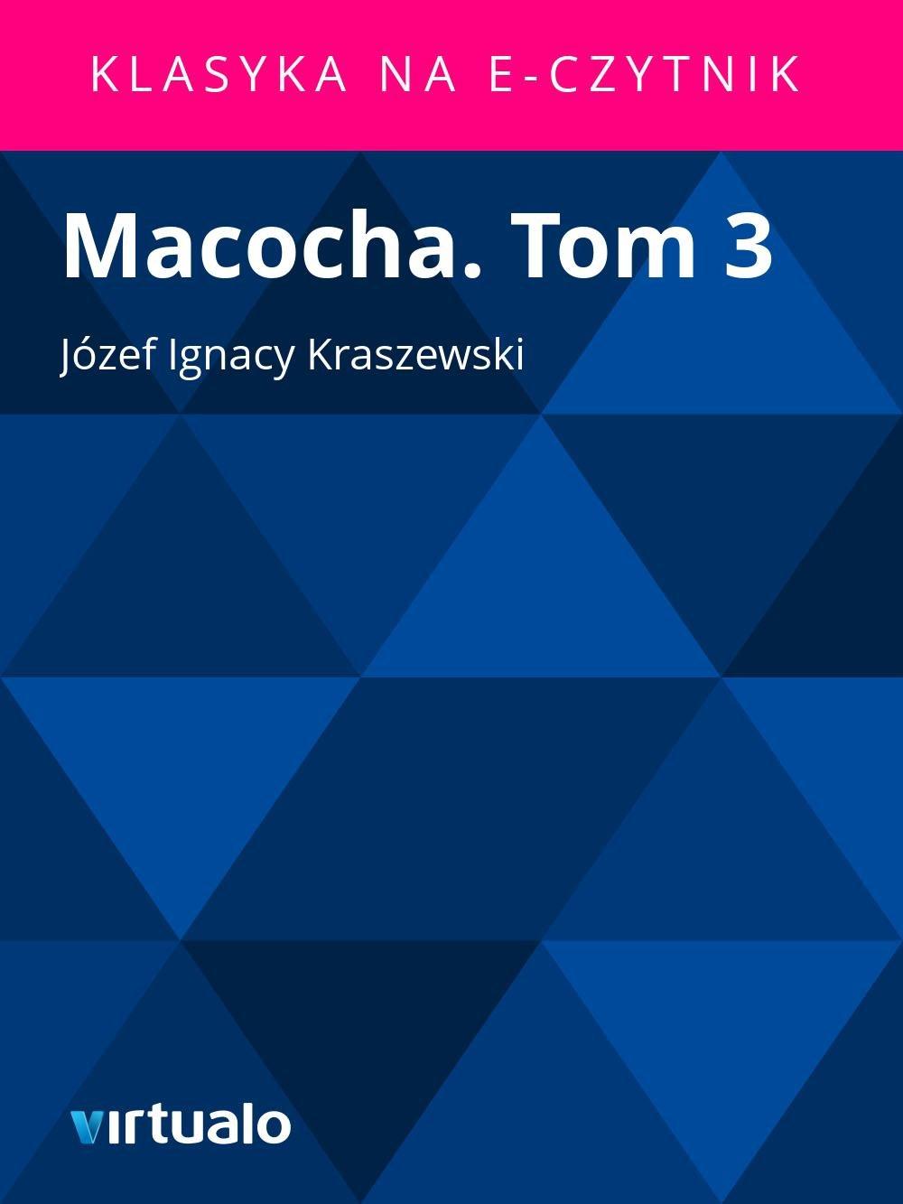 Macocha. Tom 3 - Ebook (Książka EPUB) do pobrania w formacie EPUB