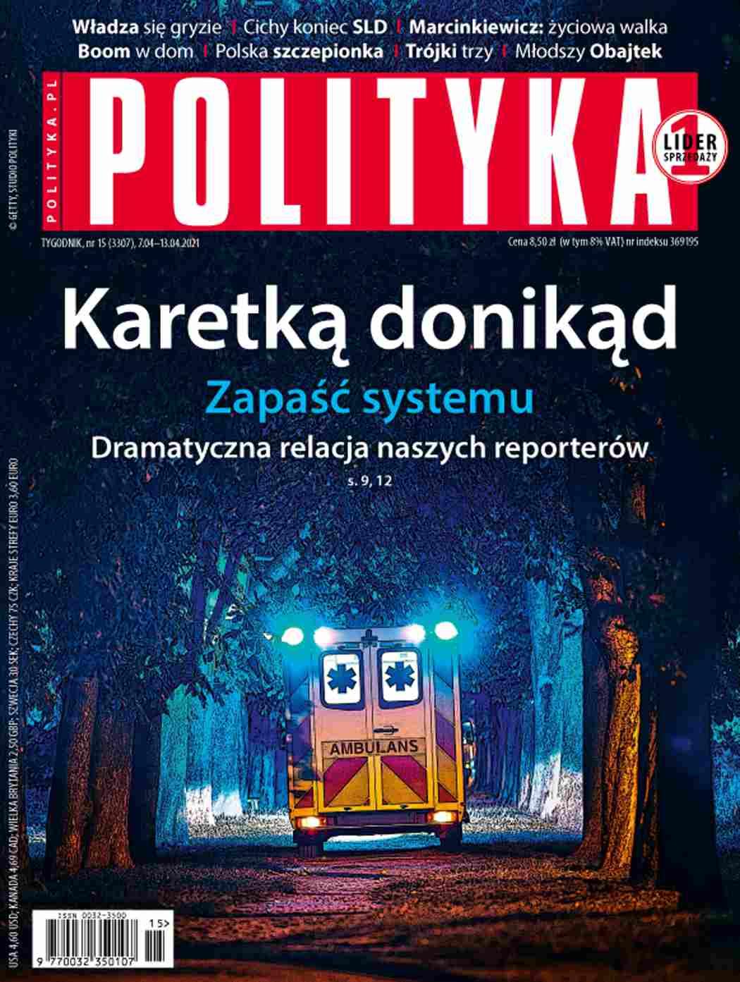 Polityka nr 15/2021 - Ebook (Książka PDF) do pobrania w formacie PDF