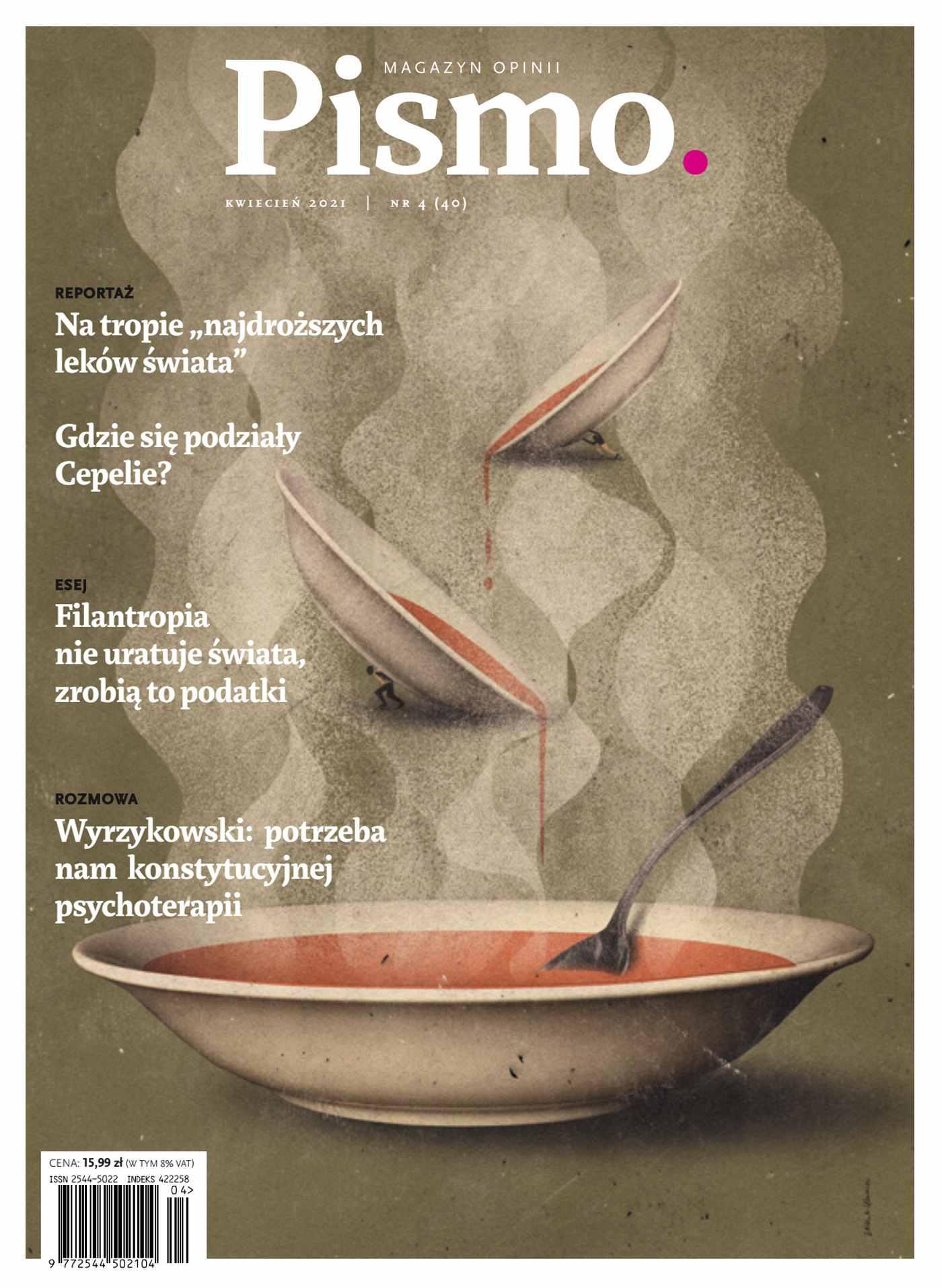 Pismo. Magazyn Opinii 04/2021 - Ebook (Książka EPUB) do pobrania w formacie EPUB