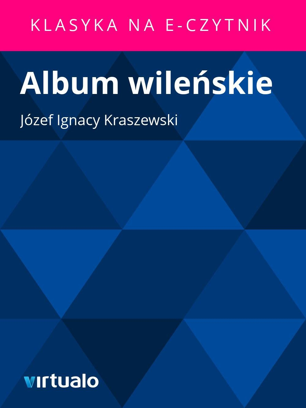Album wileńskie - Ebook (Książka EPUB) do pobrania w formacie EPUB