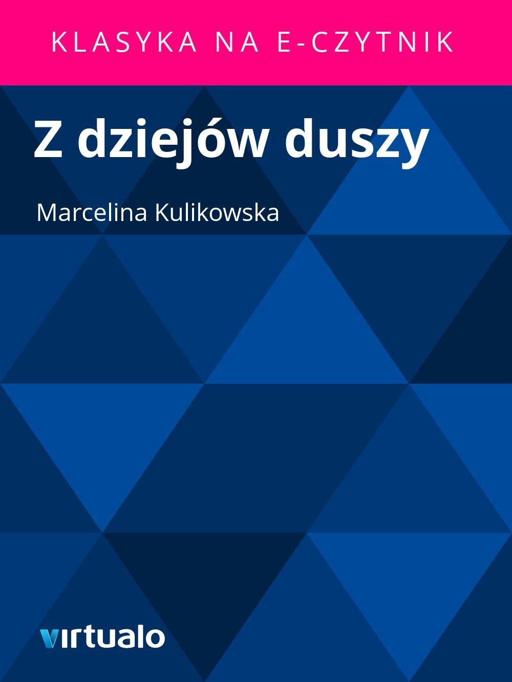 Z dziejów duszy - Ebook (Książka EPUB) do pobrania w formacie EPUB