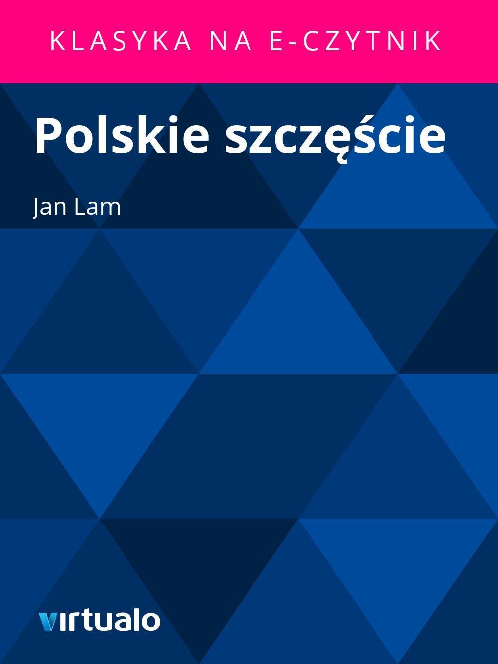 Polskie szczęście - Ebook (Książka EPUB) do pobrania w formacie EPUB