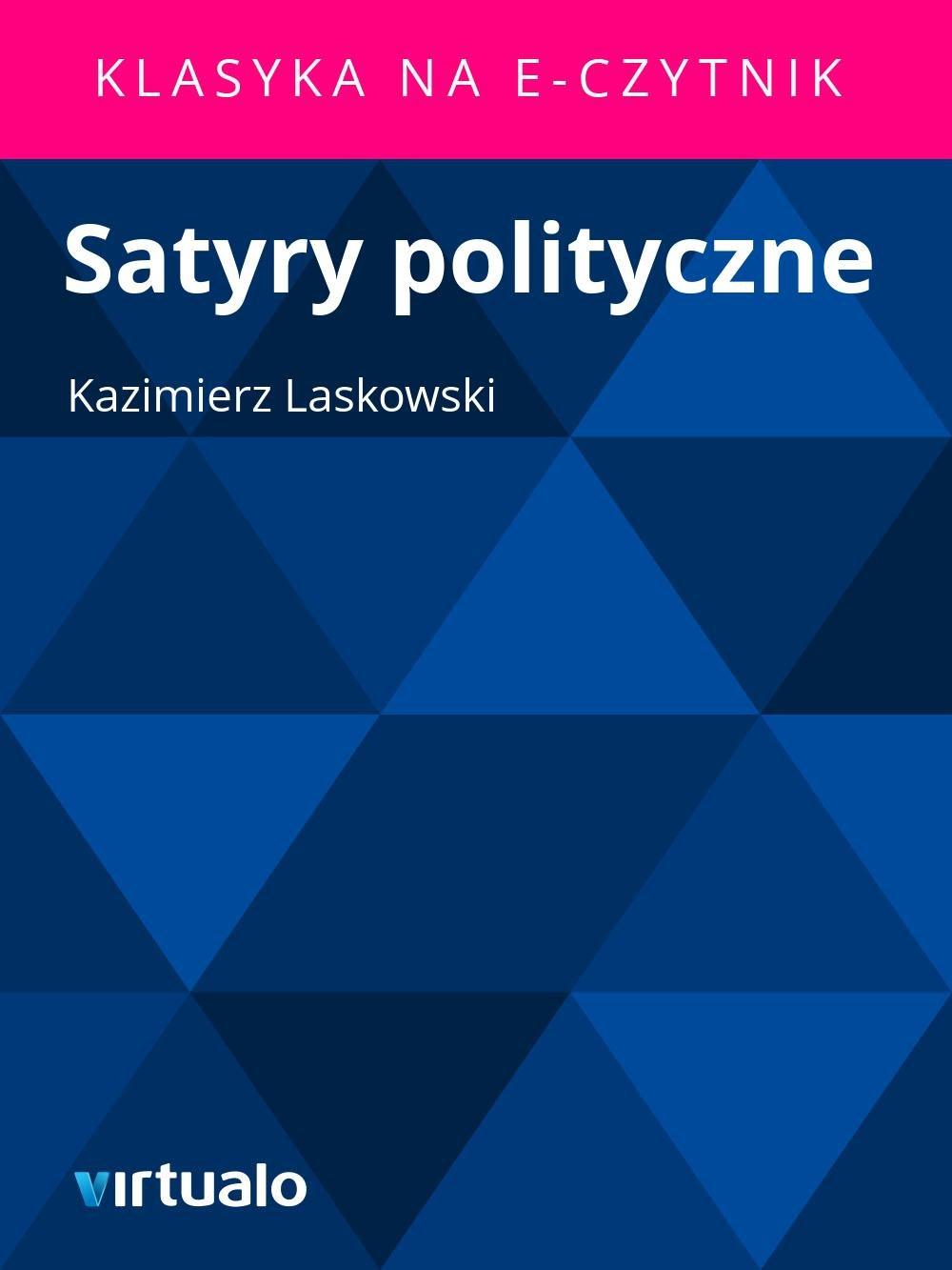 Satyry polityczne - Ebook (Książka EPUB) do pobrania w formacie EPUB