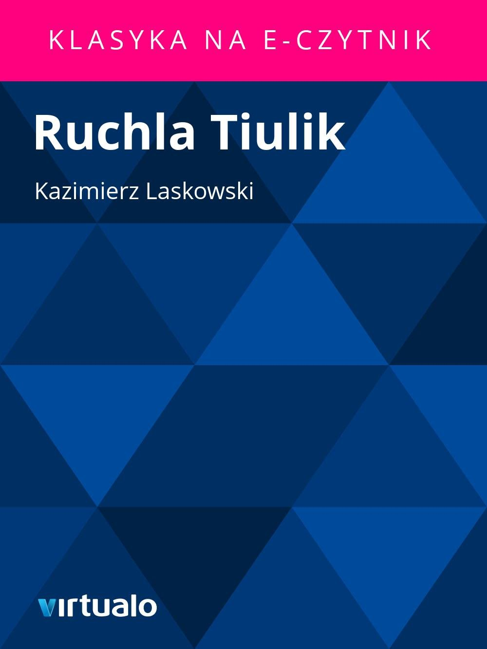 Ruchla Tiulik - Ebook (Książka EPUB) do pobrania w formacie EPUB