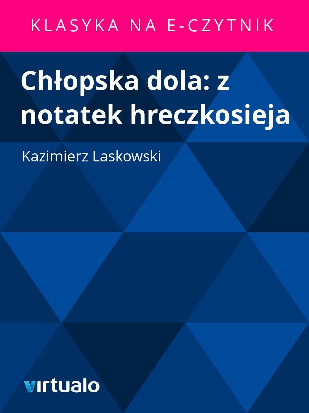 Chłopska dola: z notatek hreczkosieja - Ebook (Książka EPUB) do pobrania w formacie EPUB