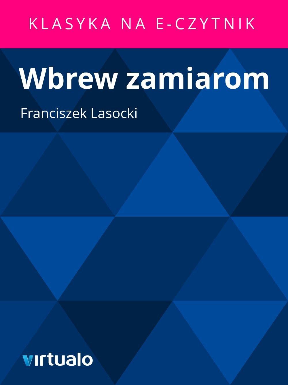 Wbrew zamiarom - Ebook (Książka EPUB) do pobrania w formacie EPUB