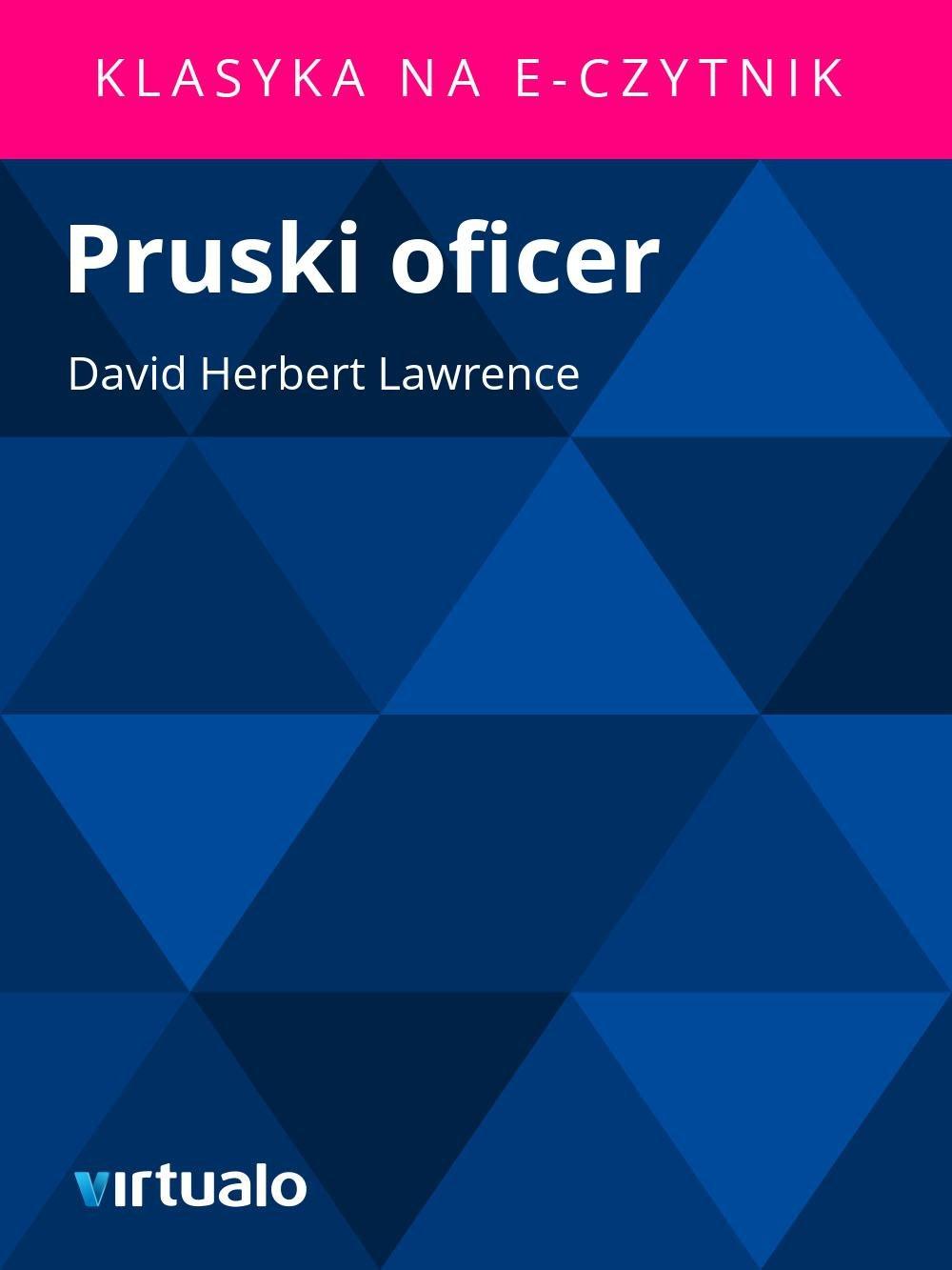 Pruski oficer - Ebook (Książka EPUB) do pobrania w formacie EPUB