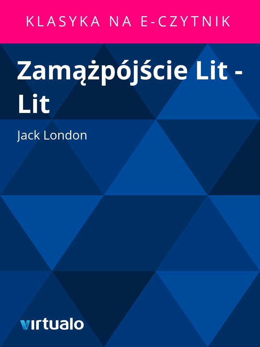 Zamążpójście Lit - Lit - Ebook (Książka EPUB) do pobrania w formacie EPUB