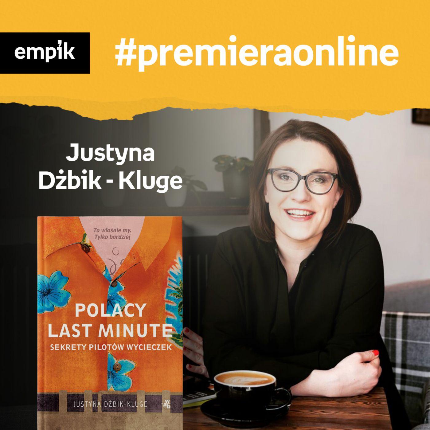#122 Justyna Dżbik-Kluge - Empik #premieraonline - podcast - Audiobook (Książka audio MP3) do pobrania w całości w archiwum ZIP