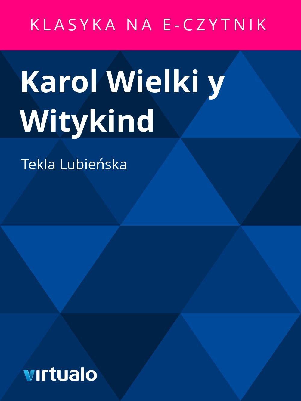 Karol Wielki y Witykind - Ebook (Książka EPUB) do pobrania w formacie EPUB