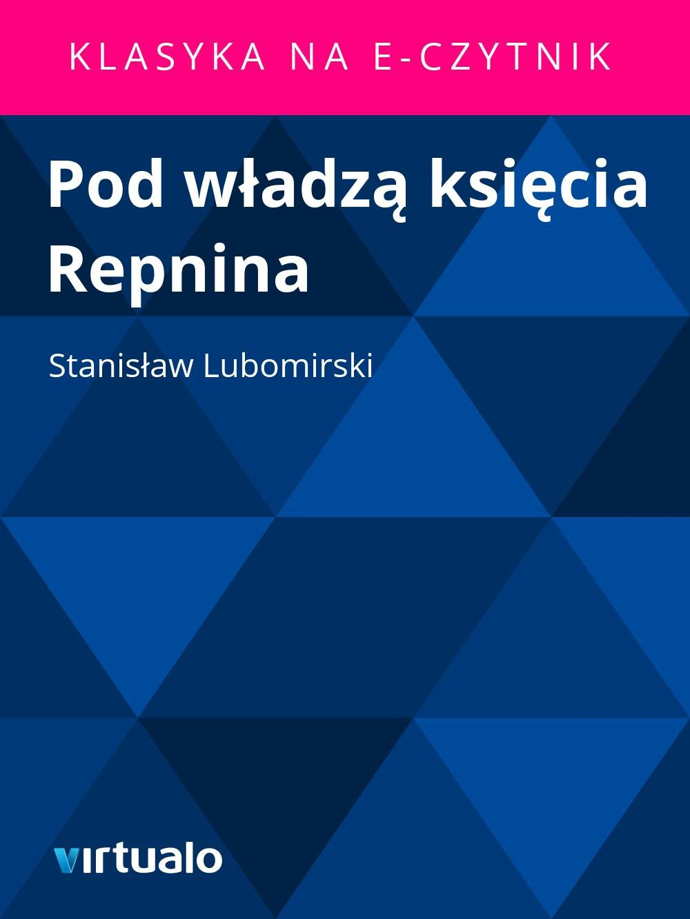 Pod władzą księcia Repnina - Ebook (Książka EPUB) do pobrania w formacie EPUB