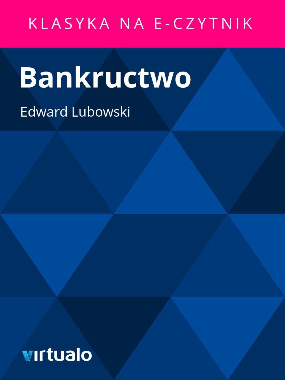 Bankructwo - Ebook (Książka EPUB) do pobrania w formacie EPUB
