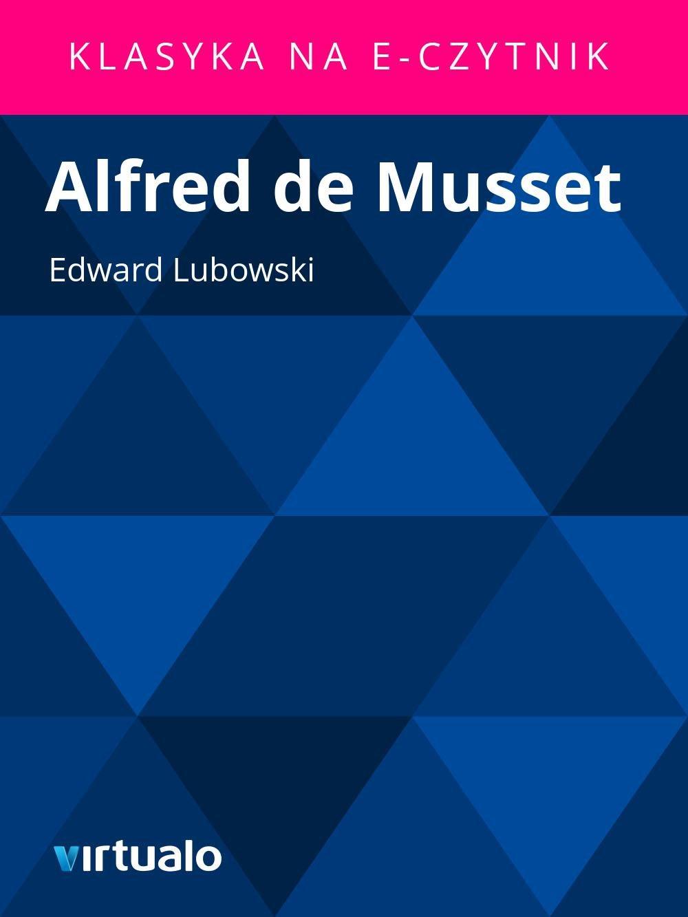 Alfred de Musset - Ebook (Książka EPUB) do pobrania w formacie EPUB