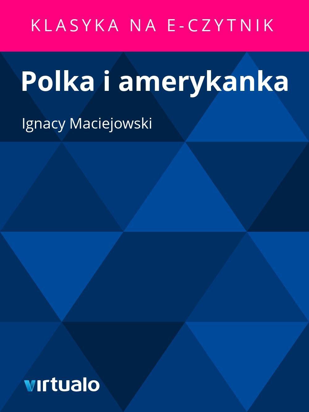 Polka i amerykanka - Ebook (Książka EPUB) do pobrania w formacie EPUB