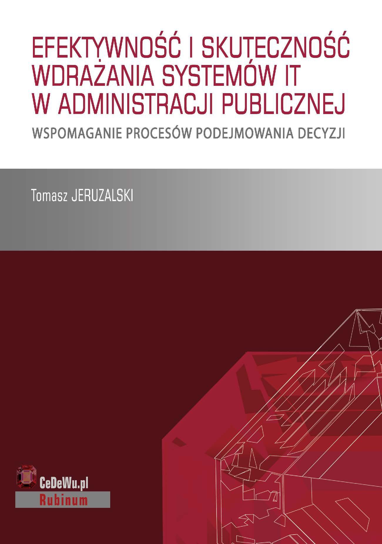 Książka stanowi omówienie sposobu wdrażania systemów IT i skuteczność ich działania w publicznych służbach zatrudnienia - Ebook (Książka PDF) do pobrania w formacie PDF