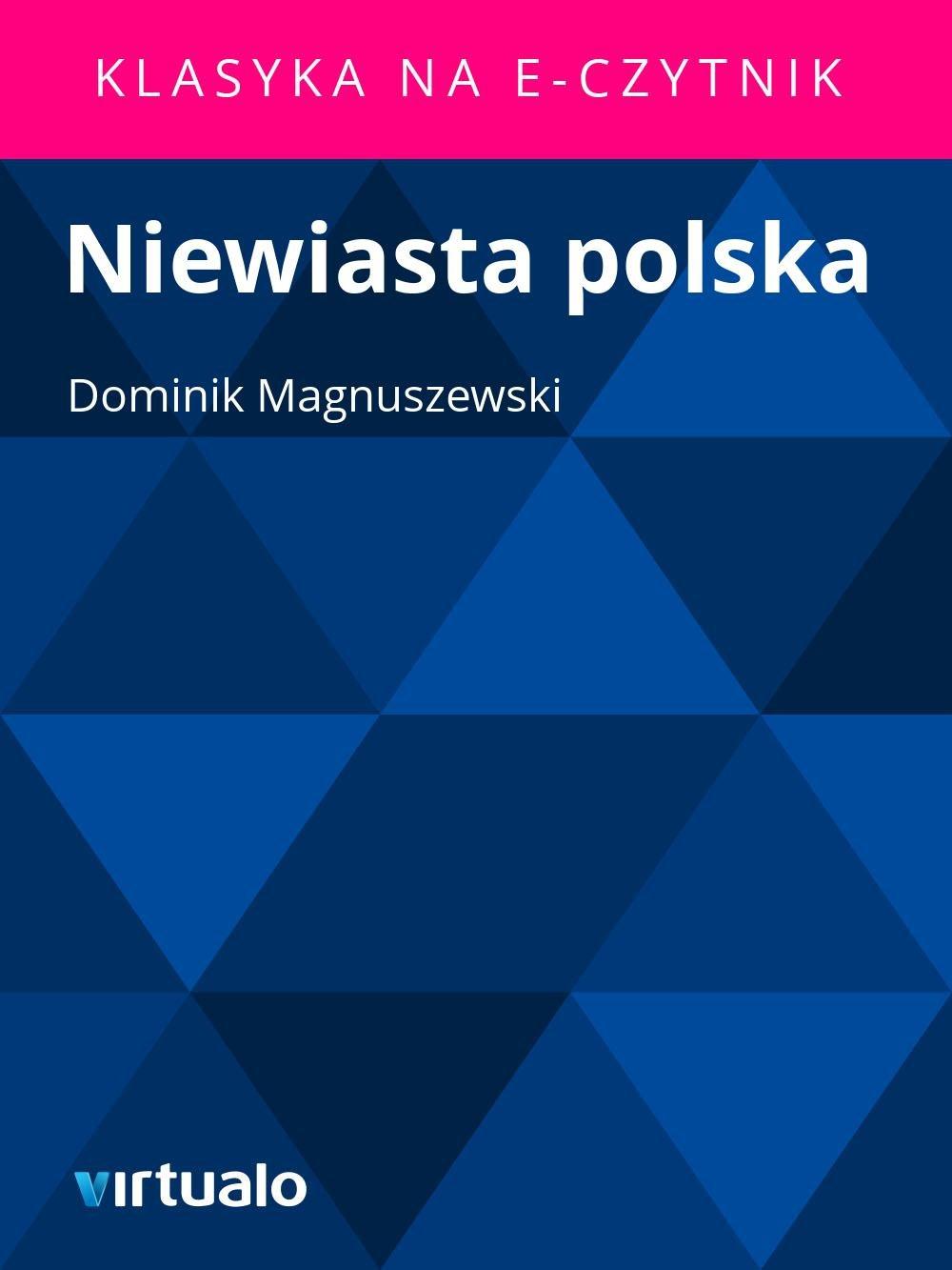 Niewiasta polska - Ebook (Książka EPUB) do pobrania w formacie EPUB