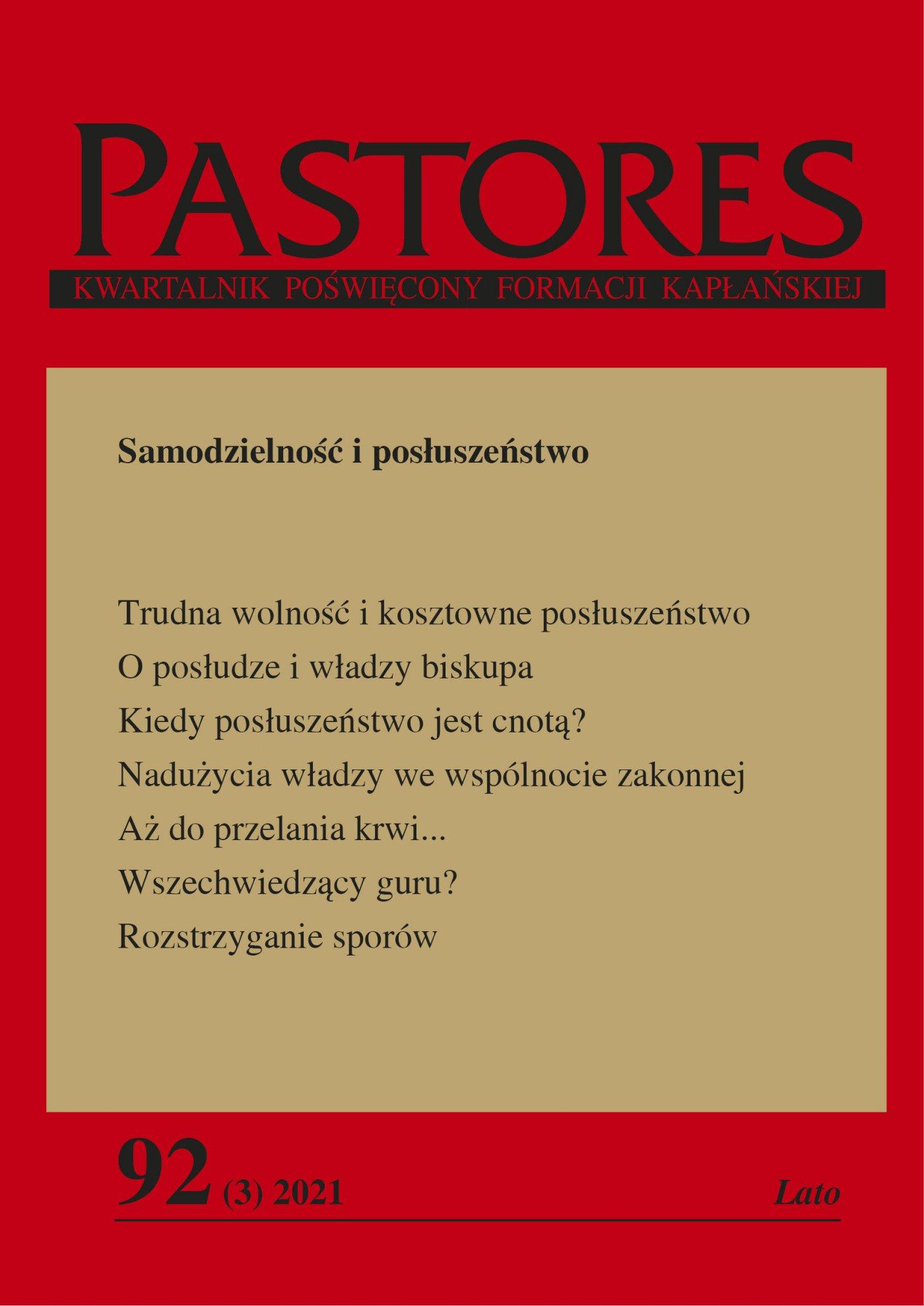Pastores 92 (3) 2021 - Ebook (Książka EPUB) do pobrania w formacie EPUB