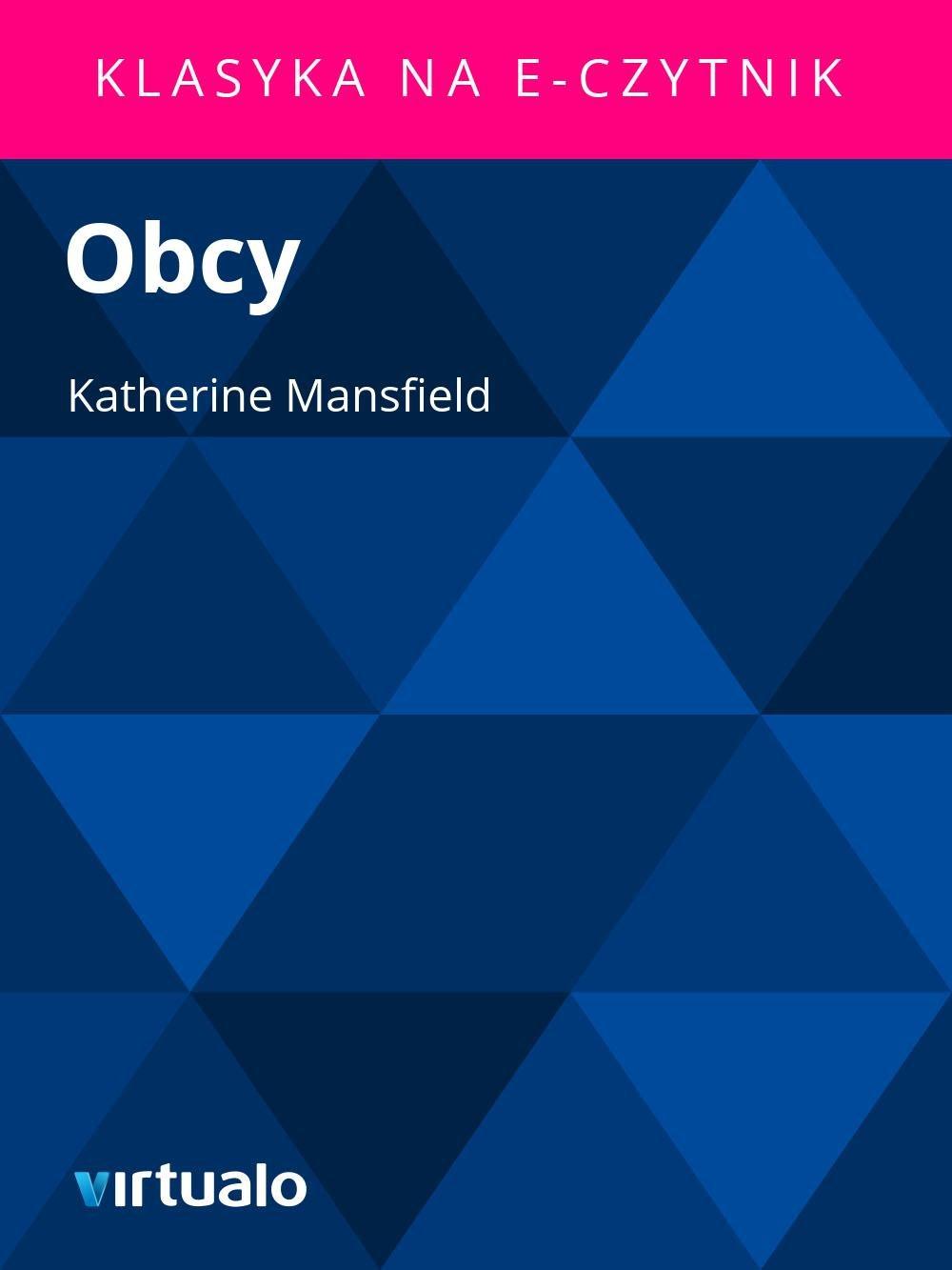 Obcy - Ebook (Książka EPUB) do pobrania w formacie EPUB