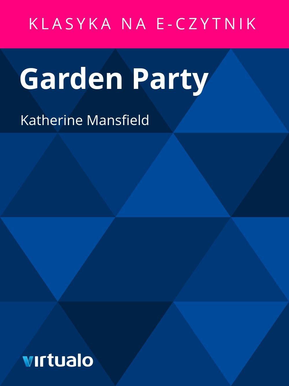 Garden Party - Ebook (Książka EPUB) do pobrania w formacie EPUB