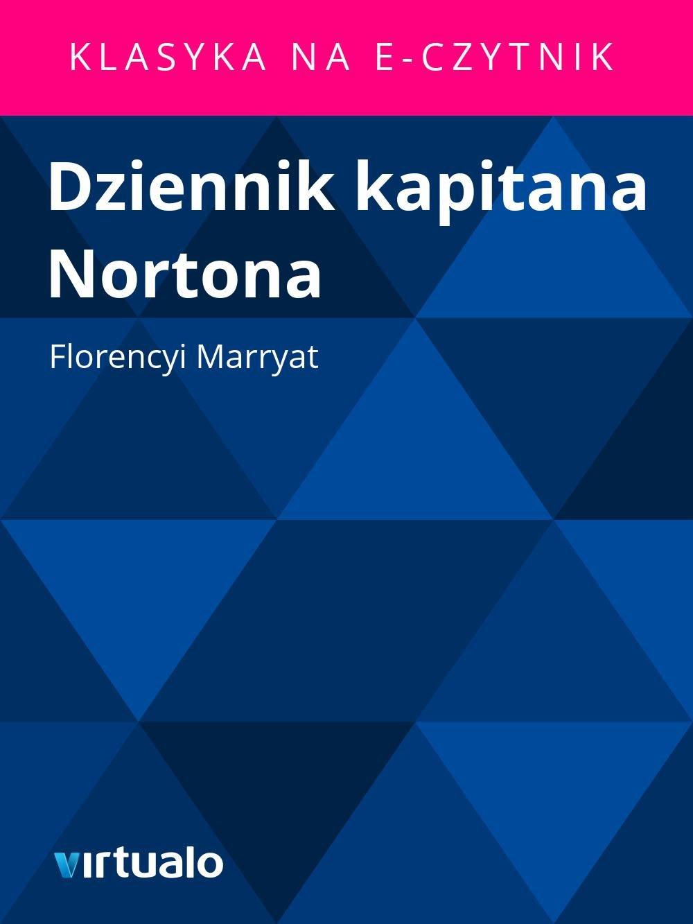 Dziennik kapitana Nortona - Ebook (Książka EPUB) do pobrania w formacie EPUB