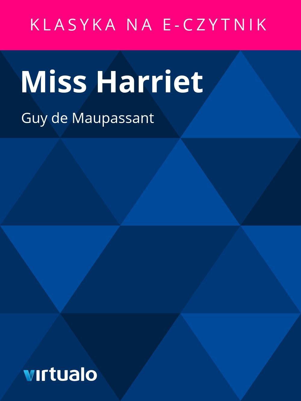 Miss Harriet - Ebook (Książka EPUB) do pobrania w formacie EPUB