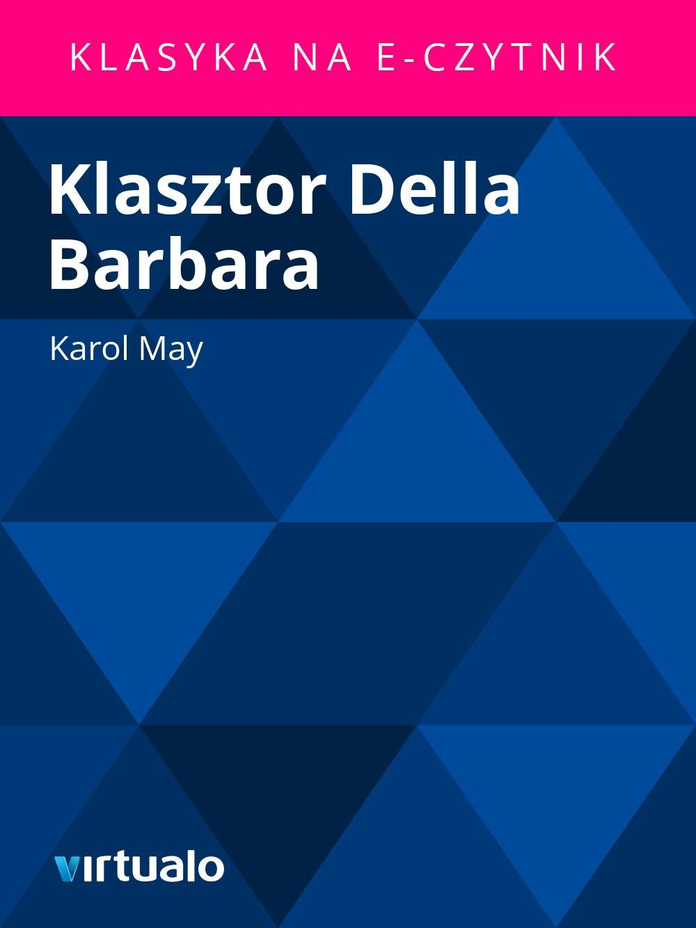 Klasztor Della Barbara - Ebook (Książka EPUB) do pobrania w formacie EPUB