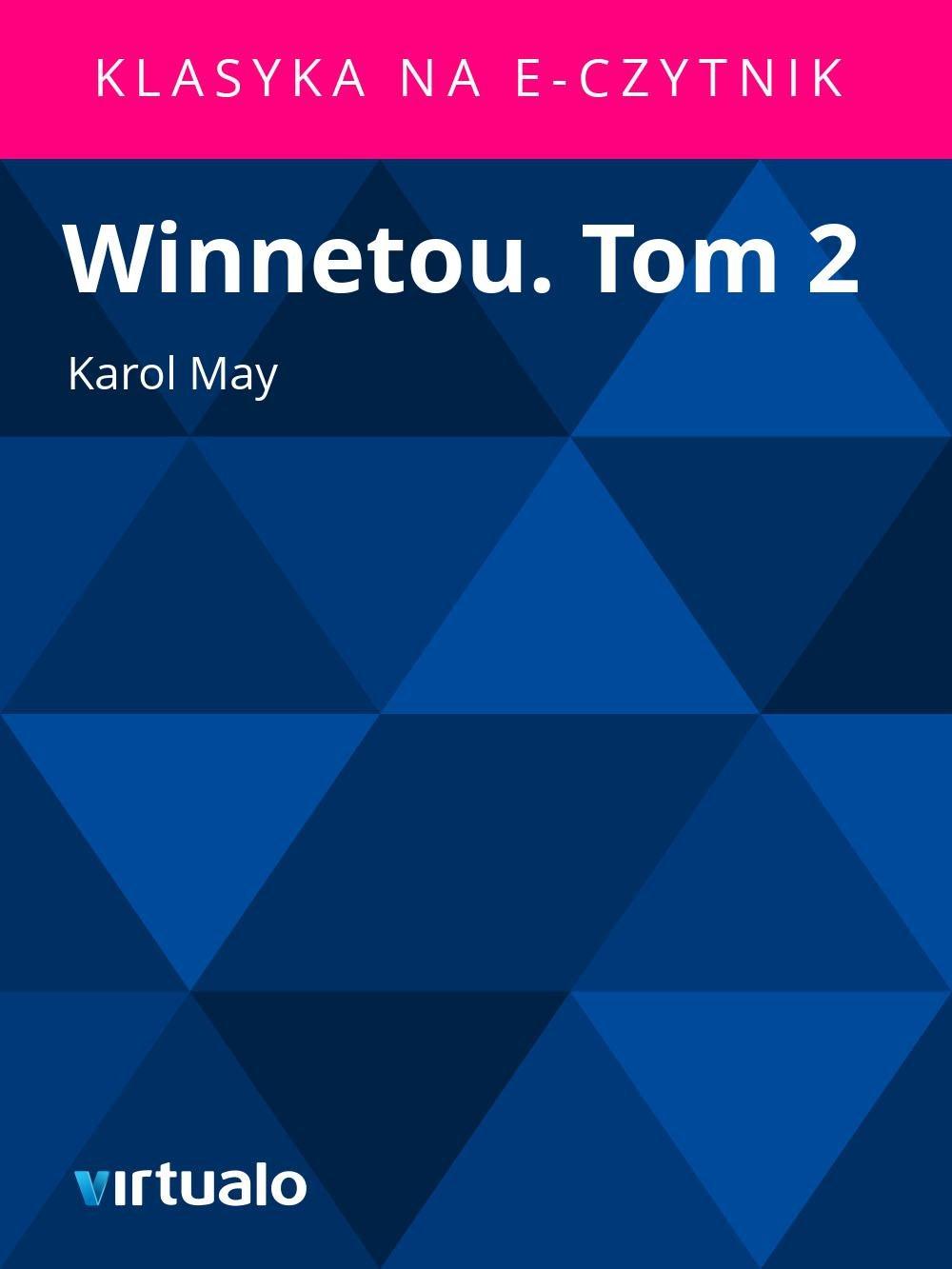 Winnetou. Tom 2 - Ebook (Książka EPUB) do pobrania w formacie EPUB