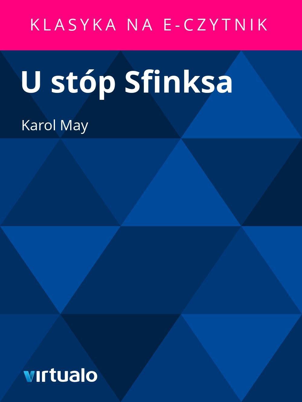 U stóp Sfinksa - Ebook (Książka EPUB) do pobrania w formacie EPUB