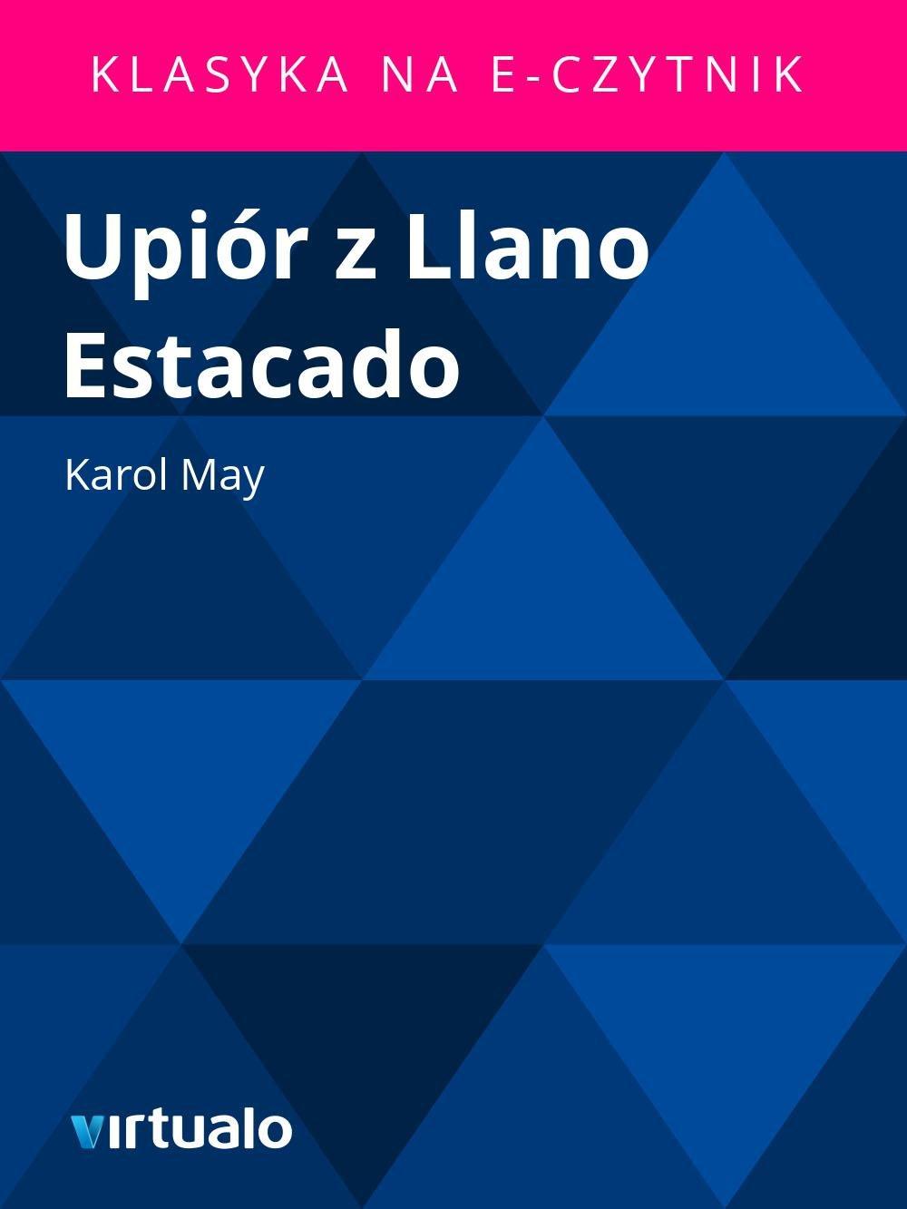 Upiór z Llano Estacado - Ebook (Książka EPUB) do pobrania w formacie EPUB