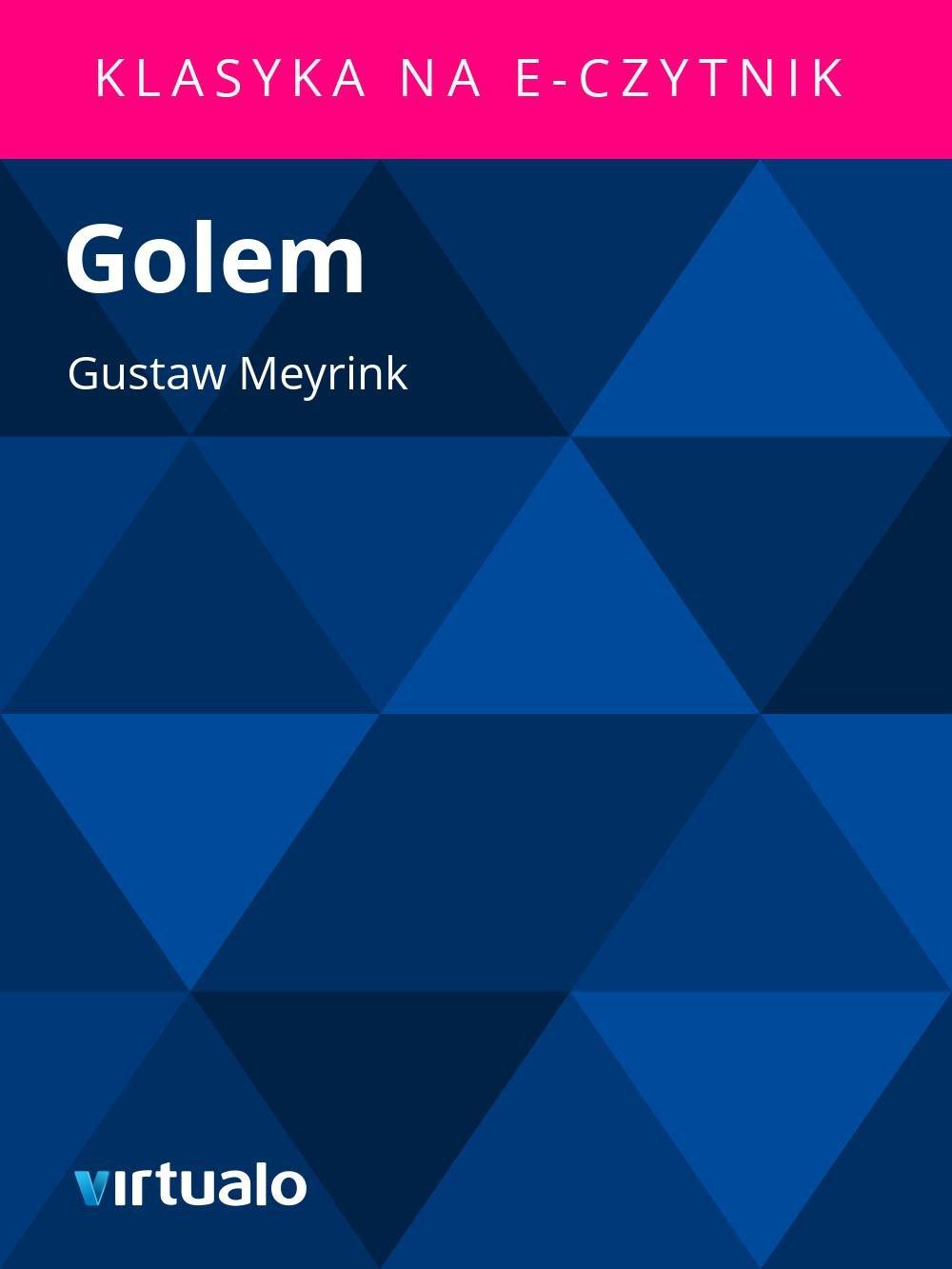 Golem - Ebook (Książka EPUB) do pobrania w formacie EPUB