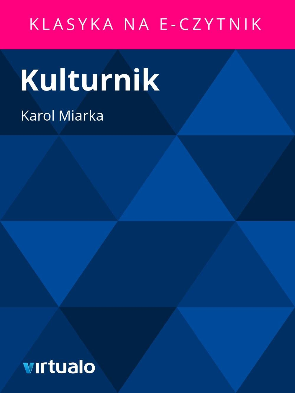 Kulturnik - Ebook (Książka EPUB) do pobrania w formacie EPUB