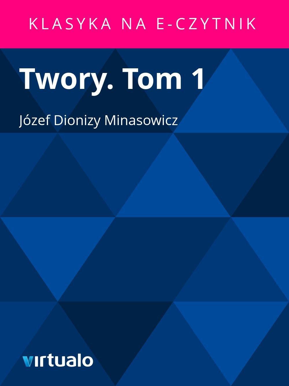 Twory. Tom 1 - Ebook (Książka EPUB) do pobrania w formacie EPUB