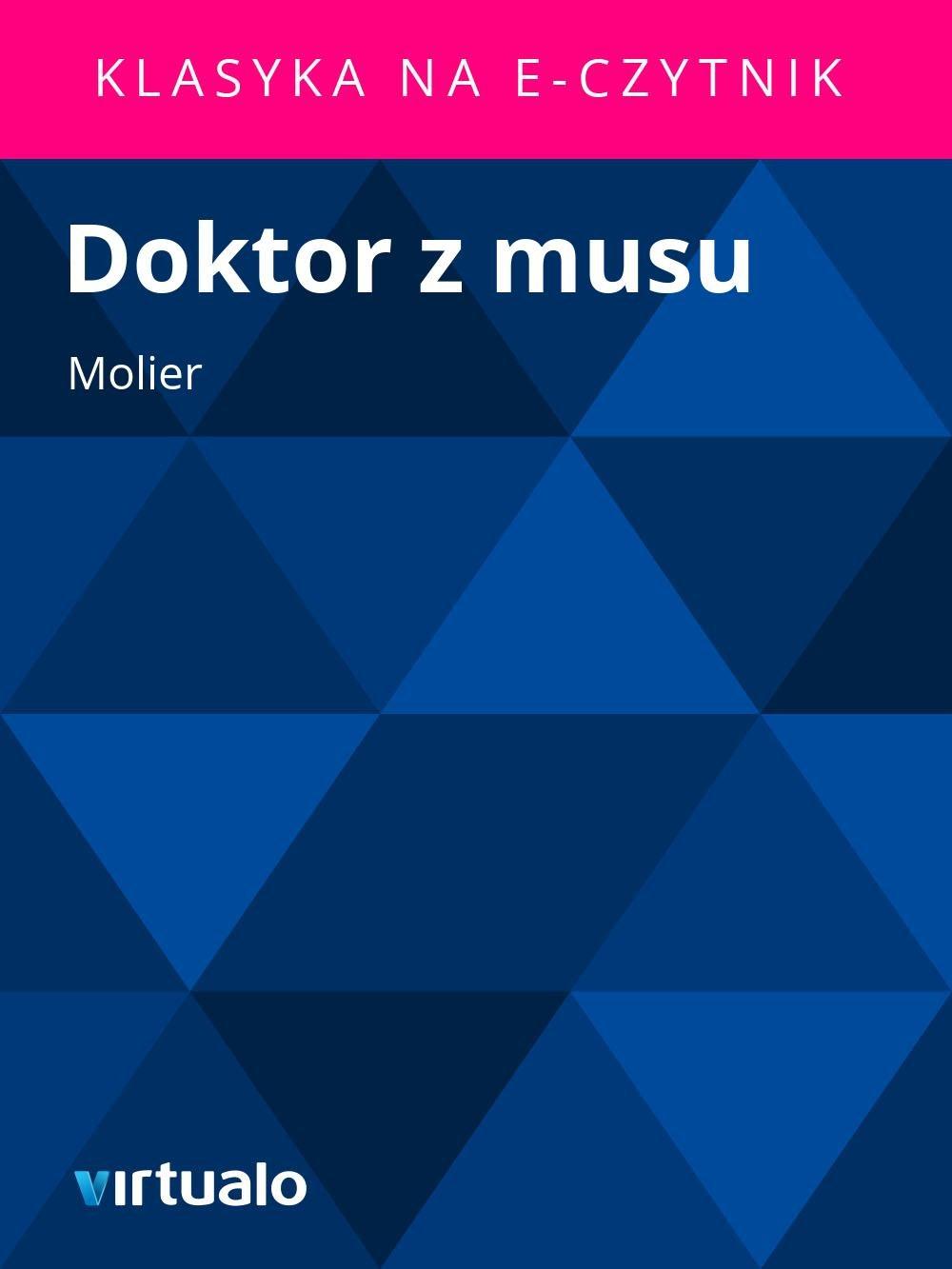 Doktor z musu - Ebook (Książka EPUB) do pobrania w formacie EPUB