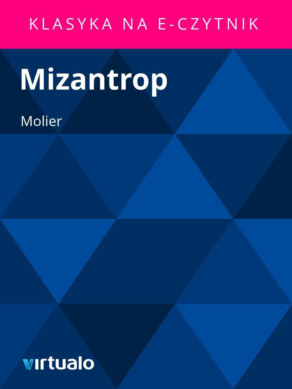 Mizantrop - Ebook (Książka EPUB) do pobrania w formacie EPUB