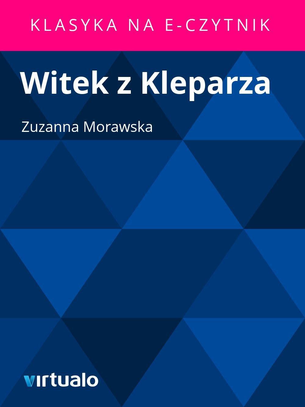 Witek z Kleparza - Ebook (Książka EPUB) do pobrania w formacie EPUB