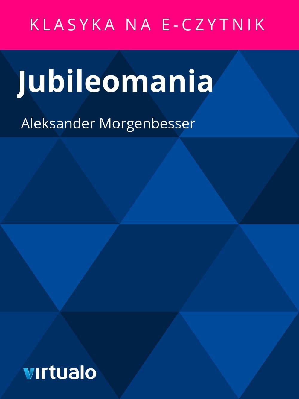 Jubileomania - Ebook (Książka EPUB) do pobrania w formacie EPUB