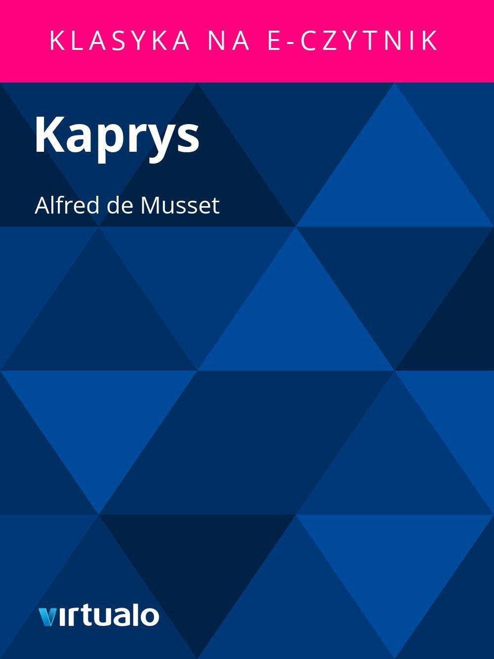 Kaprys - Ebook (Książka EPUB) do pobrania w formacie EPUB