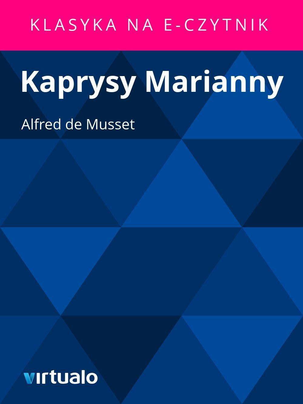 Kaprysy Marianny - Ebook (Książka EPUB) do pobrania w formacie EPUB