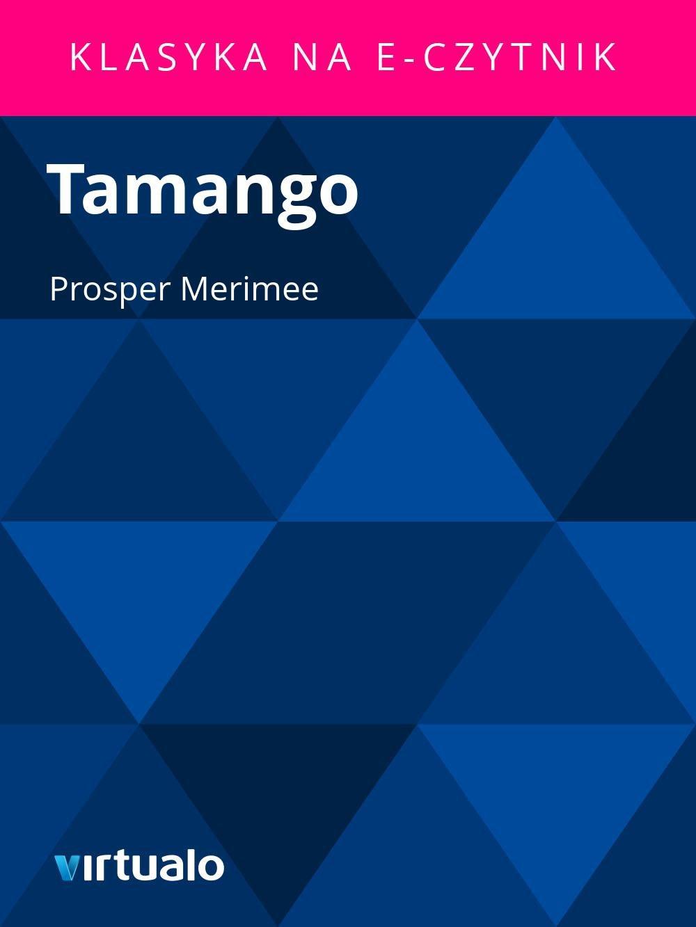 Tamango - Ebook (Książka EPUB) do pobrania w formacie EPUB